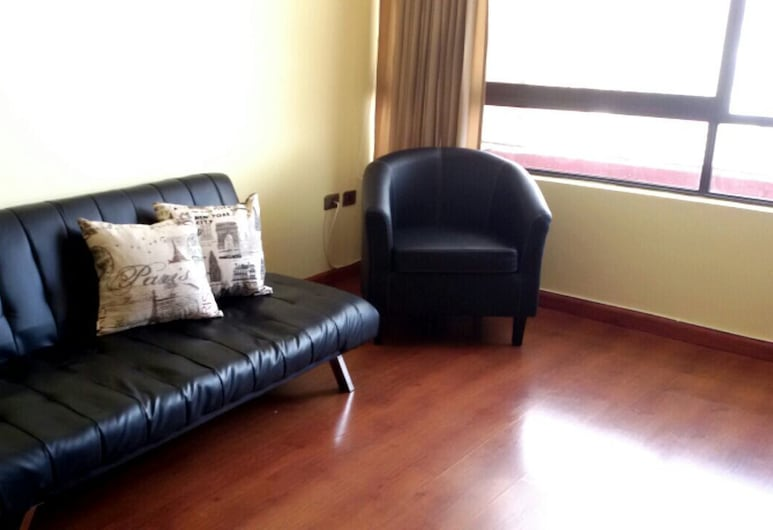 Depto Iquique Frente al Mar 1093, Iquique, Apartment, 2 Bedrooms, Living Room