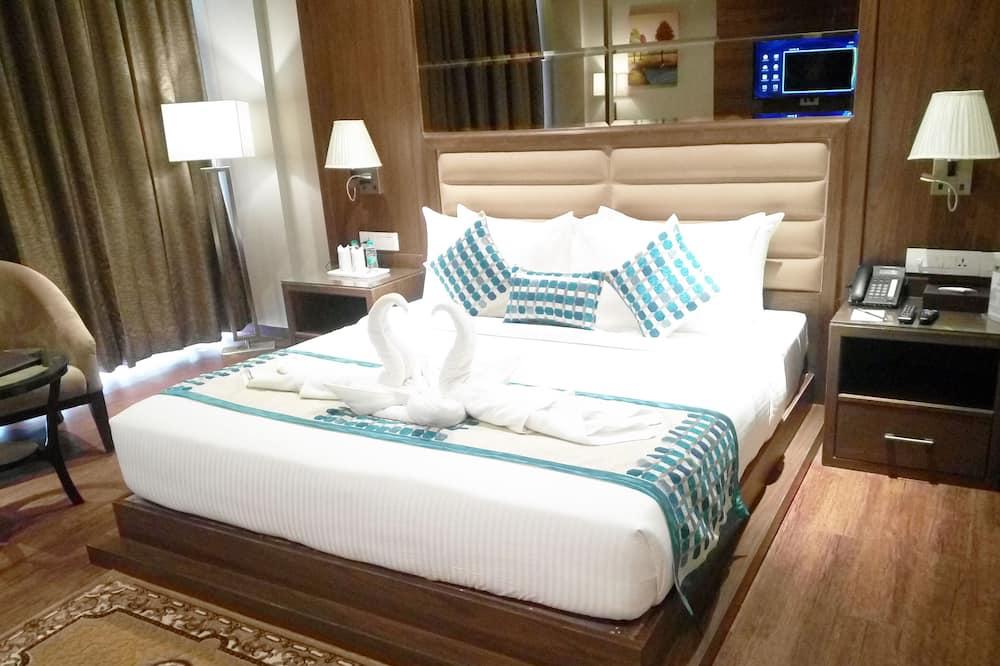 Deluxe Double Room, Refrigerator, City View - Pemandangan Bilik Tamu