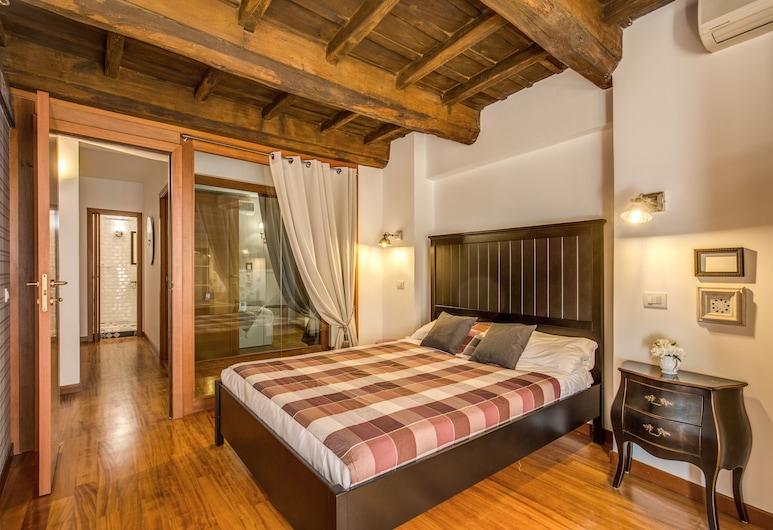 Pantheon Miracle Suite, Rom, Lägenhet Deluxe - 3 sovrum - utsikt mot staden, Rum