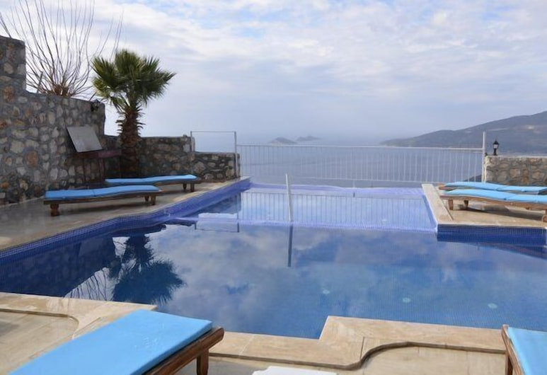 Kalkan 5 Bedrooms Villa Private Pool, Kas, Ulkouima-allas