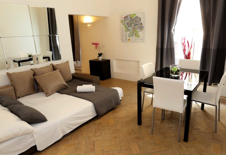 Coppelle, Rome, Apartment, 1 Bedroom, Room