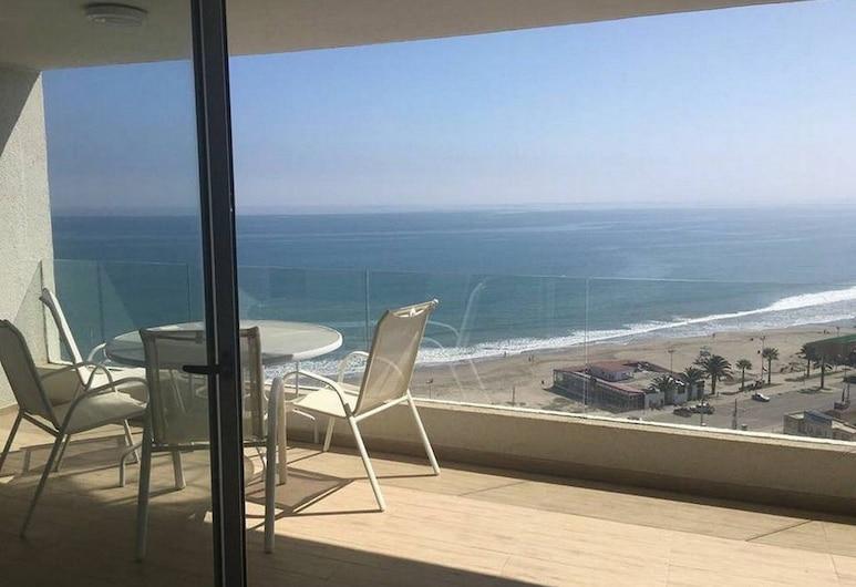 Depto Club Oceano La Serena 1160, La Serena, Appartamento, 2 camere da letto, Balcone