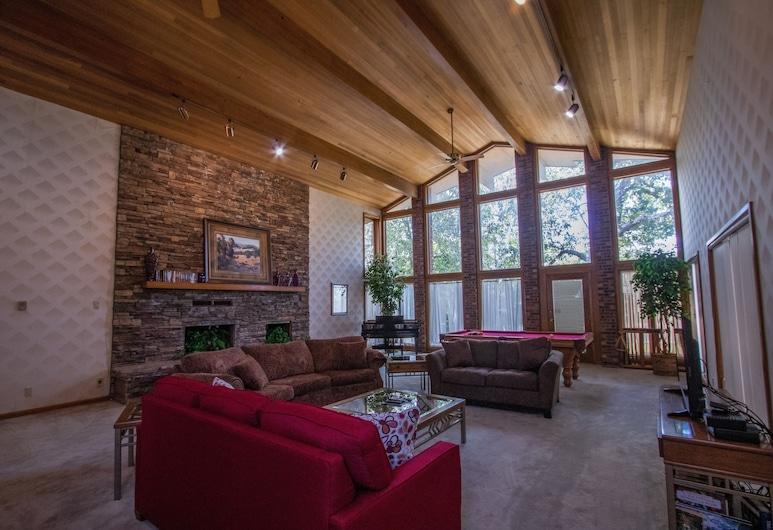 Woodlands Retreat, Branson, Kuća, 4 spavaće sobe, Dnevna soba