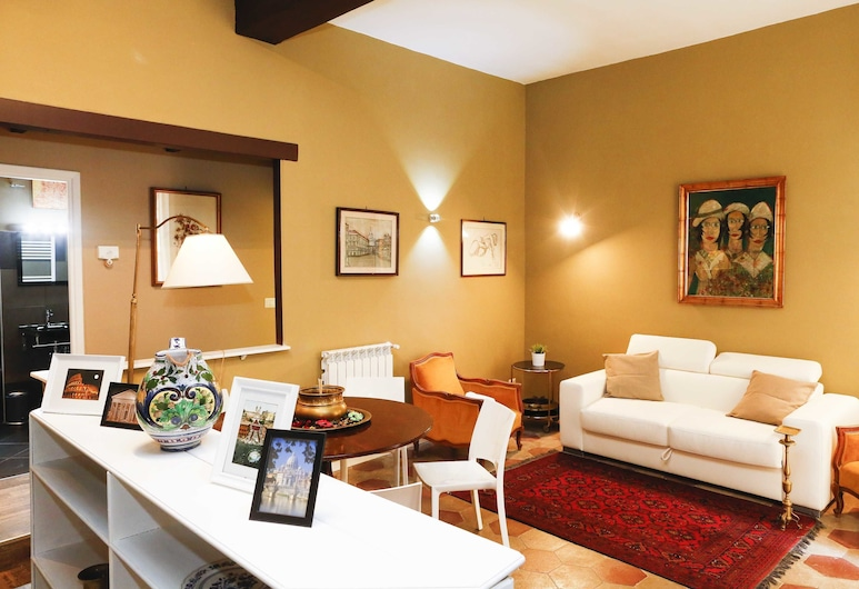 Tito Guesthouse, Rome, Apartment, 1 Bedroom, Terrace, Living Area