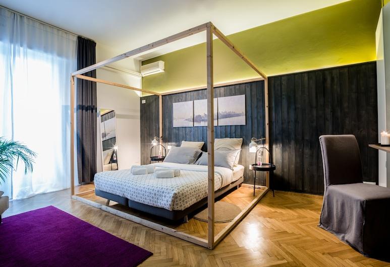 Terzopiano, Treviso, Double or Twin Room (Private External Bathroom), Bilik Tamu