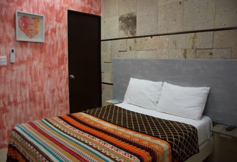 Hostel Inn Cancun, Cancún, Habitación básica, 1 cama doble, baño privado, Habitación