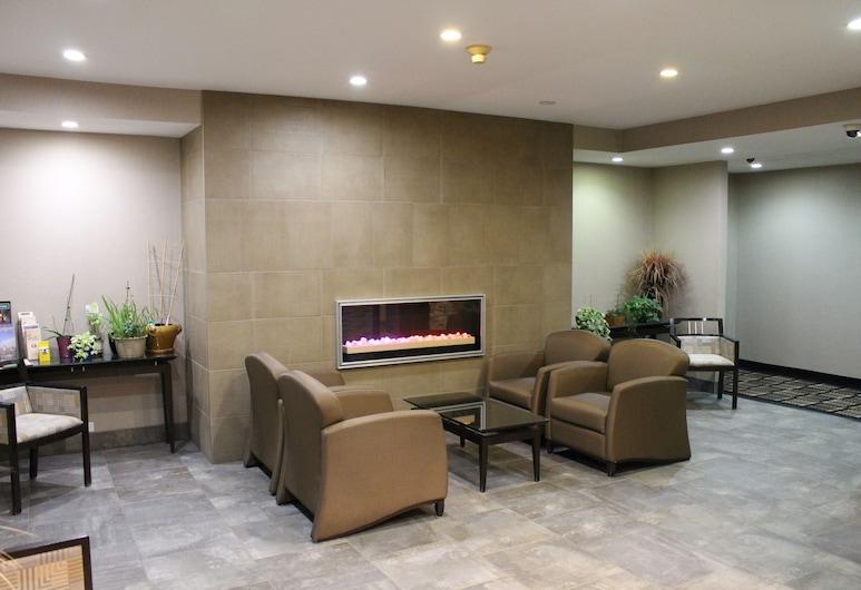Versatile Inn Hotel, Sarnia, Sitzecke in der Lobby