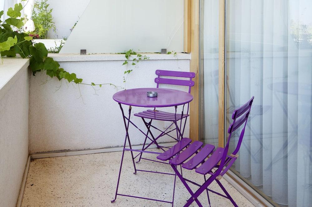 Pokój dwuosobowy z 1 lub 2 łóżkami typu Superior, balkon, widok na ogród - Balkon