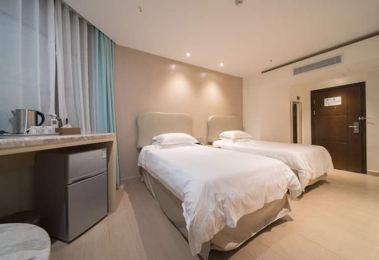 深圳悠然居酒店, 深圳市, 高級雙床房, 客房