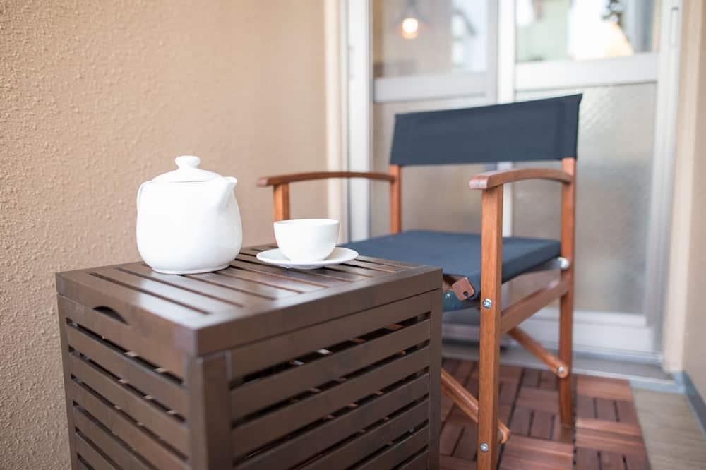 Business Apart Daire, 1 Yatak Odası, Mutfak, Şehir Manzaralı - Balkon