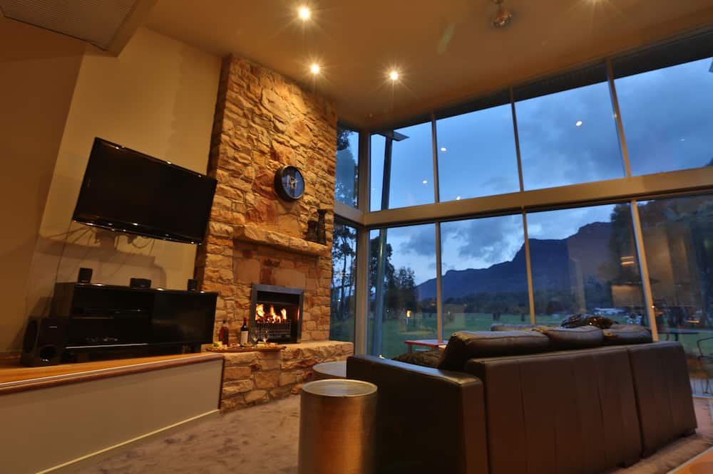 Luxe chalet (Bushland Luxury Couples Retreat) - Woonruimte