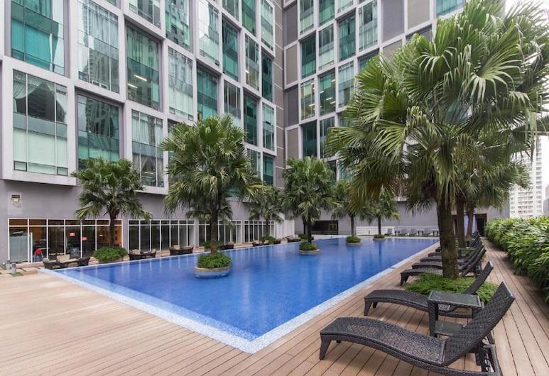 KLCC 蘇活豪華住宿套房飯店, 吉隆坡, 室外游泳池