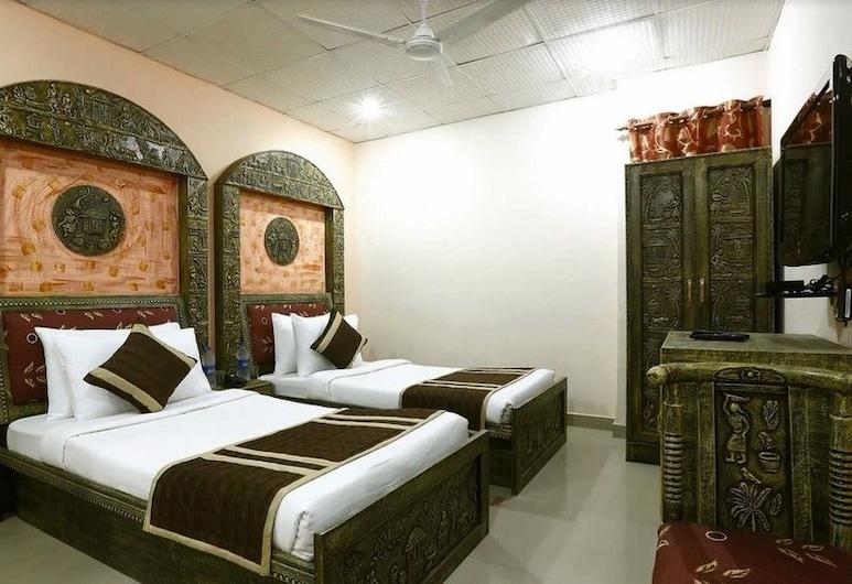 Hotel Green Lotus Dwarka, Yeni Delhi, Deluxe Oda, Oda