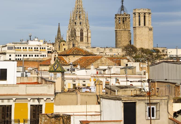 Apartments Rambla 102, Барселона, Loft Plus, Вид из номера