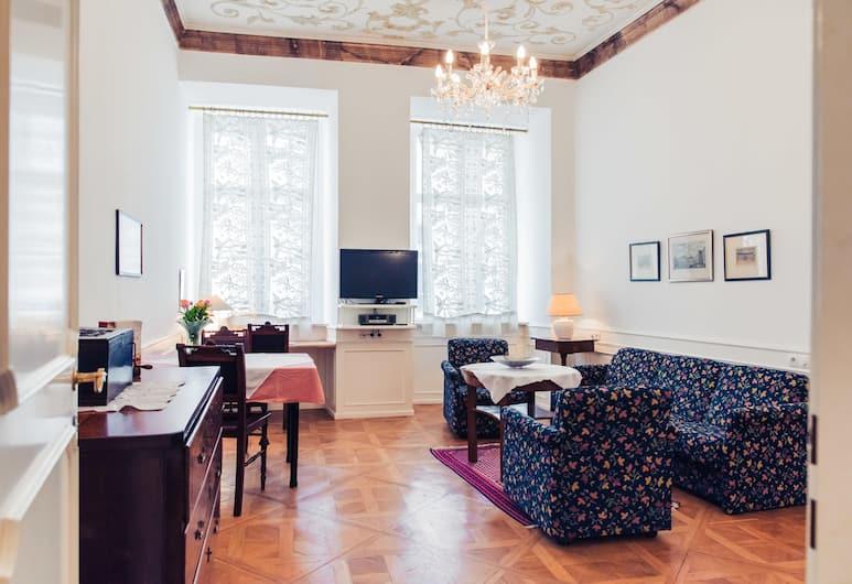 Ofenloch Apartments, Viyana, Apart Daire, Oturma Odası