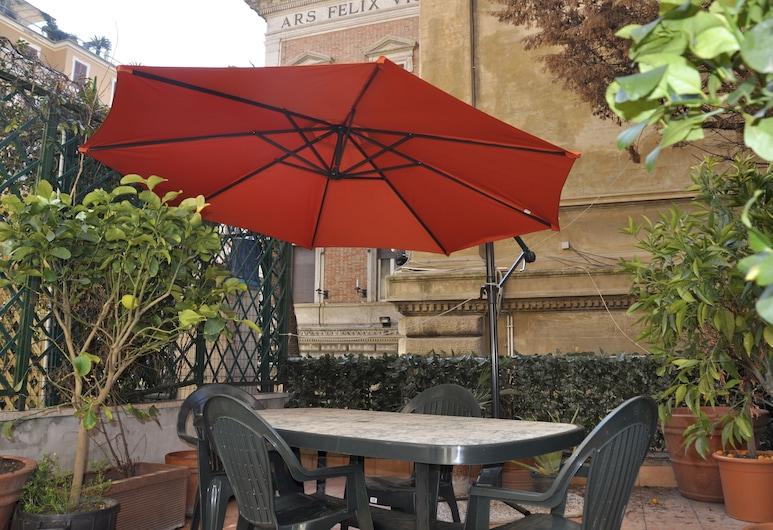 Tiffany Roma Suite, Roma, Camera quadrupla, Terrazza/Patio