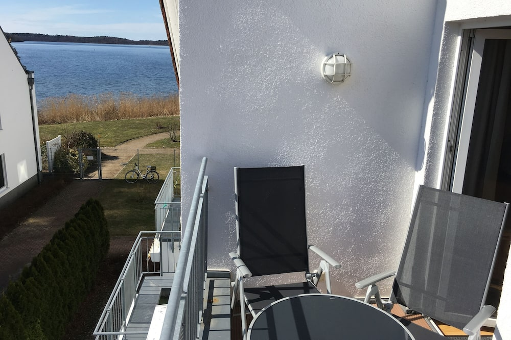Apartman, 1 spavaća soba, balkon, pogled na jezero - Balkon
