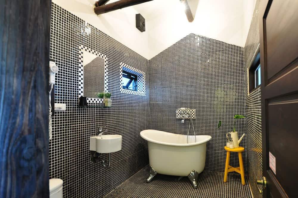精緻雙人房, 露台, 海景 - 浴室