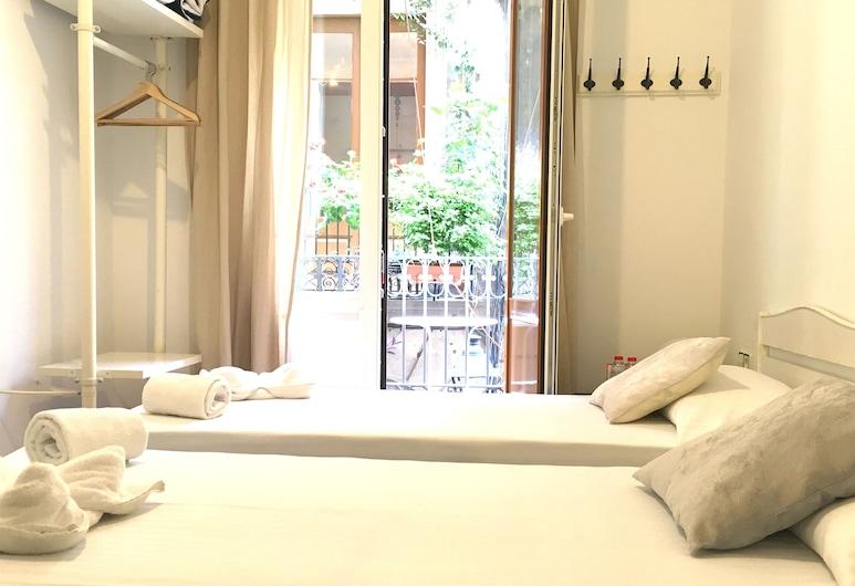 Hostal La Palmera Barcelona, Barcelona, Phòng, Phòng tắm dùng chung, Phòng