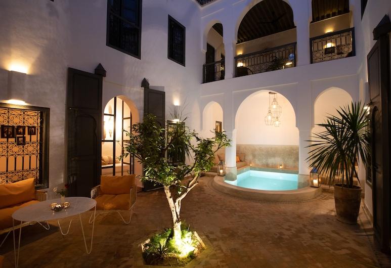 達爾堤翠特飯店, 馬拉喀什, 飯店入口 - 夜景