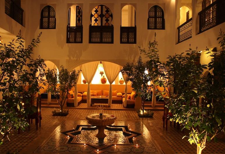 Riad Passali, Марракеш, Внутрішній двір
