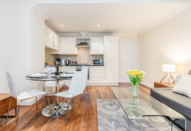 Spectacular Strand Two Bed Apartment, London, Comfort-Apartment, 2Schlafzimmer, Stadtblick, Wohnbereich