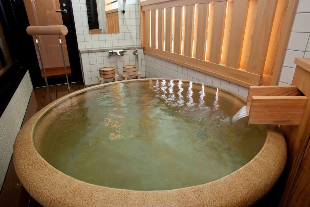 Traditional Room (Japanese Style, Private Open-air Bath) - Bilik mandi