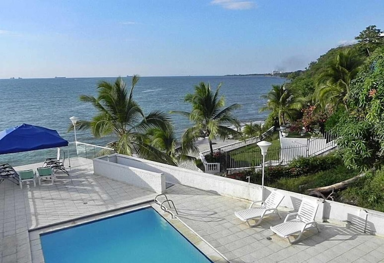 Casa de Playa Santa Marta 02, Santa Marta, สระว่ายน้ำกลางแจ้ง