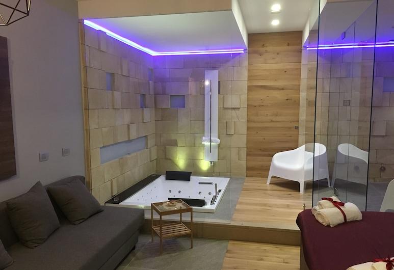 마테르 아쿠아에, Matera, 더블룸, 분사식 욕조, 객실