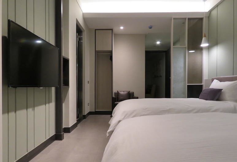 FZbooking, Hualien City, Deluxe Twin Room, Hot Tub, Guest Room View