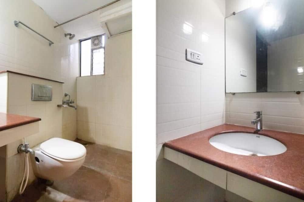 經濟雙人房單人入住, 1 張標準雙人床, 非吸煙房 - 浴室