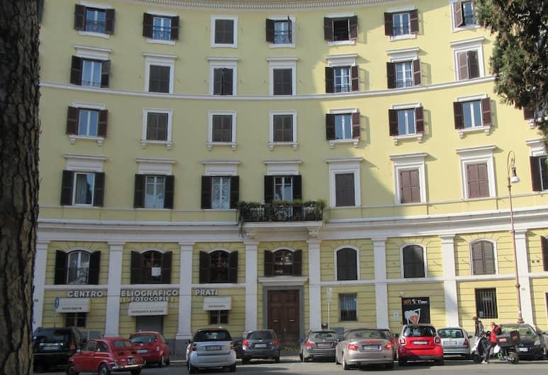 Alloggio Quiriti, Rim, Pročelje hotela