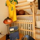 Atviro plano kambarys (1 dvigulė / 2 viengulės lovos) (near water) - Vaikų teminis kambarys