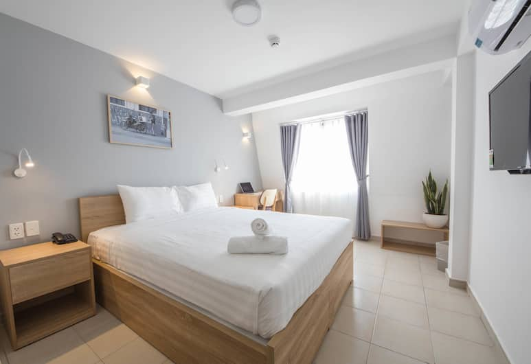 COMMON INN Thao Dien, Ho Chi Minh City, Double Room, 1 Queen Bed, Guest Room