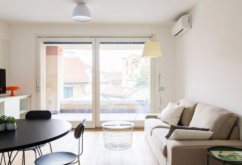 Home at Hotel - Procaccini Apartments, Μιλάνο, Διαμέρισμα, 2 Υπνοδωμάτια, Δωμάτιο