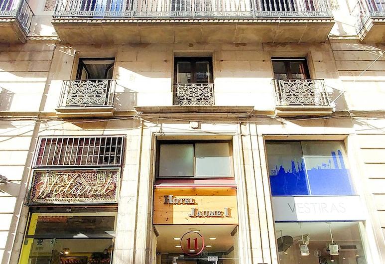 Jaume I, Barcelona, Hotellfasad
