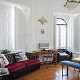 Habitación familiar, baño compartido - Sala de estar