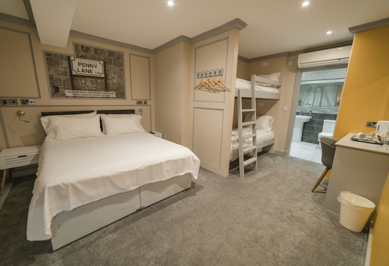 Central Station Hotel Liverpool, Liverpool, Double Room, Ensuite, Guest Room