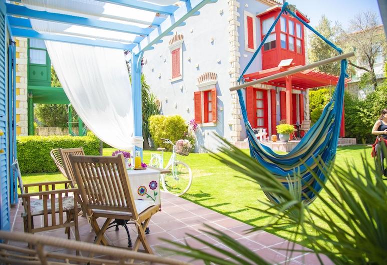 Noche Otel Alacati , Çeşme, Deluxe Oda, 1 Yatak Odası, Balkon/Veranda, Bahçeli, Teras/Veranda