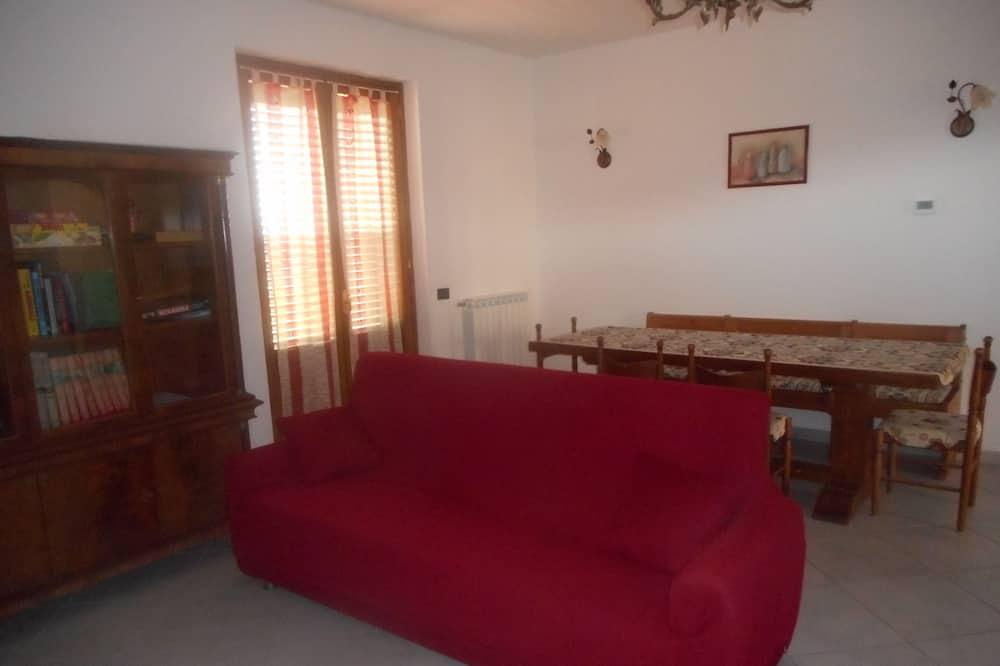 經典單棟房屋, 3 間臥室, 吸煙房, 山景 - 客廳