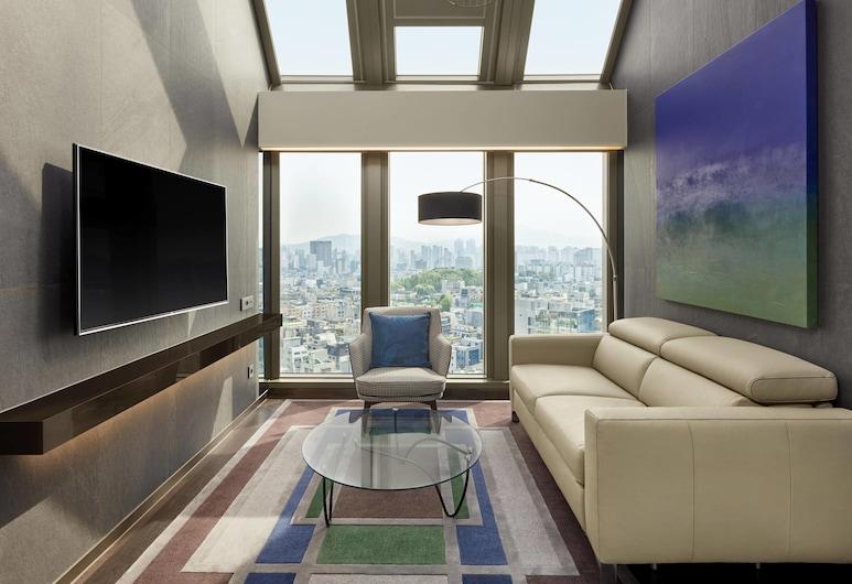江南喜來登福朋飯店, 首爾, 頂樓客房 (Residence), 客房