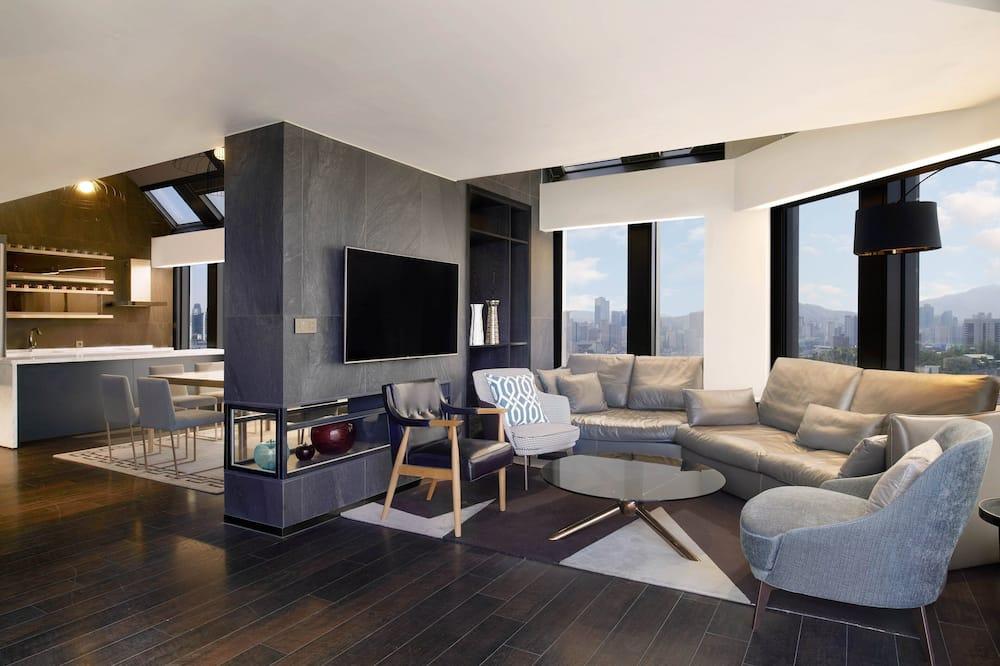 シティ ハウス キングベッド 1 台 禁煙 シティビュー (Penthouse Partyroom, Top Floor) - 客室