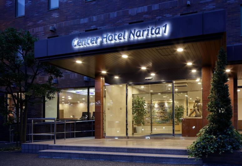 Center Hotel Narita 1, Narita, Hotel bejárata