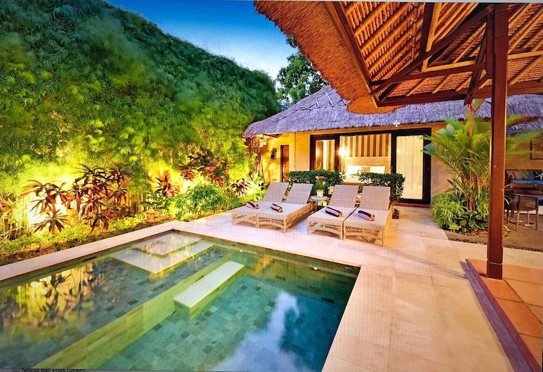 Villa Elleo, Seminyak, Deluxe Villa, 6 Bedrooms, Poolside, Terrace/Patio