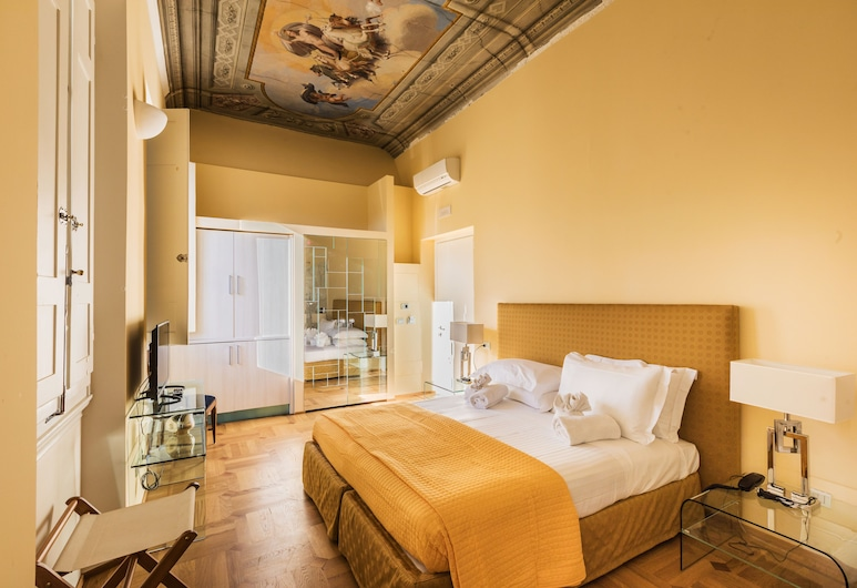 Hotel la Scala, Florens, Superior dubbelrum eller tvåbäddsrum - 1 sovrum, Gästrum