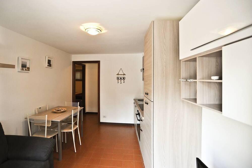Apartamentai, 2 miegamieji - Vakarienės kambaryje