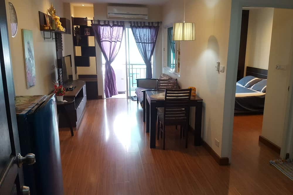 Comfort apartman, 1 queen size krevet, za nepušače, kuhinja - Dnevni boravak