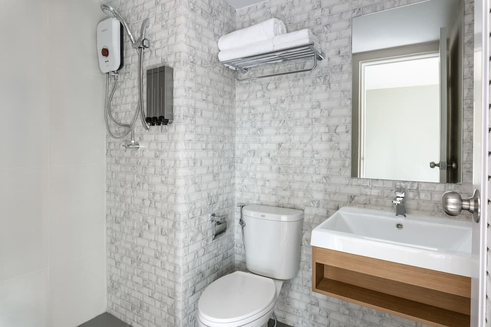 Twin Room with Private Bathroom - バスルーム
