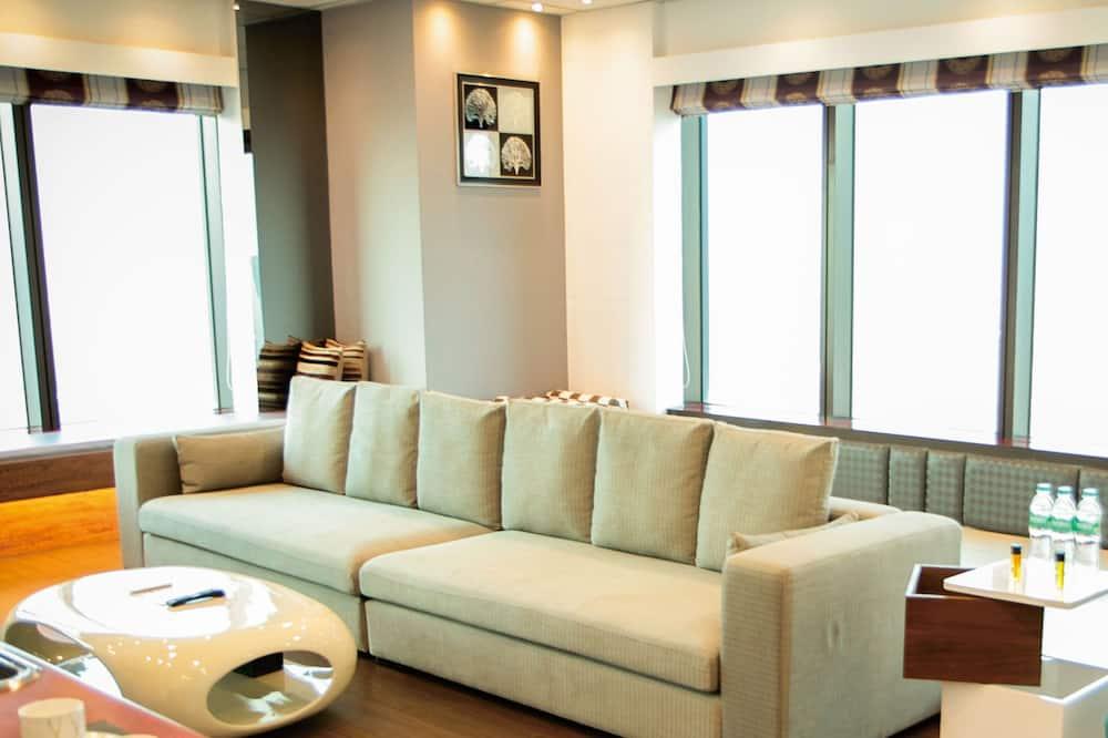 Quarto Duplo Exclusivo, 1 Quarto, 2 Casas de Banho, Nível Executivo - Área de Estar