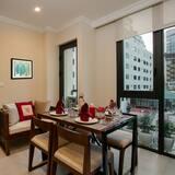 Appartement Confort, 2 chambres (Au Coeur) - Restauration dans la chambre